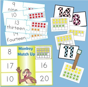 Tens Frame Math Centers