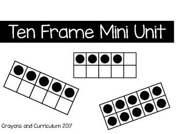 Tens Frame Mini Unit