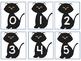 Five Frame Number Match 0-5 Math Center - Candy Corn/Black Cats Themes