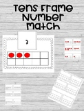 Tens Frame Number Match-Editable