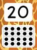 Tens Frame Number Posters 1-20 (Giraffe)