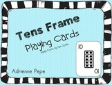 Tens Frame Playing Cards 1-20