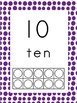 Tens Frame Posters #'s 1-10 or Play Dough Mat Center
