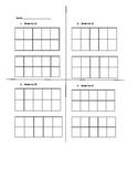Tens Frame Practice