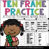 Ten Frame Practice: Worksheets and Games