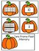 Tens Frame Pumpkins
