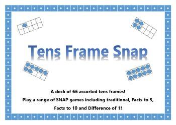 Tens Frame Snap