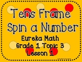 Tens Frame Spin a Number
