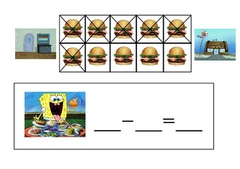 Tens Frame Subtraction
