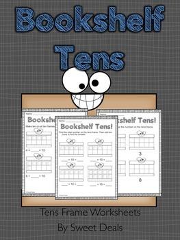 Tens Frame Worksheets