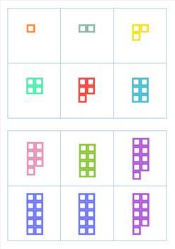 Tens Frame to 20 Bingo Game