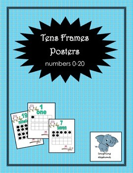 Tens Frames 0-20 posters
