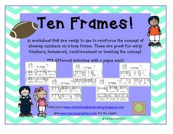 Tens Frames