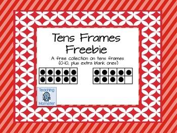 Tens Frames {FREEBIE}