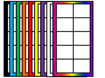 Ten's Frames Galore~Clip Art