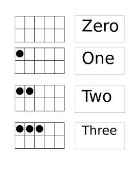 Tens Frames Matching Game