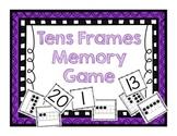 Tens Frames Memory Game