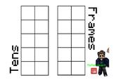 Tens Frames (Minecraft Maths)
