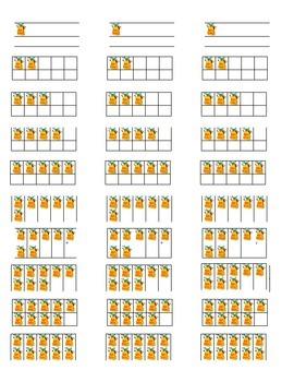 Tens Frames Stations (Backpacks)