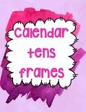 Tens Frames for Calendar Time