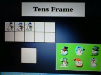 Tens Frames for the Seasons - Activboard Activity
