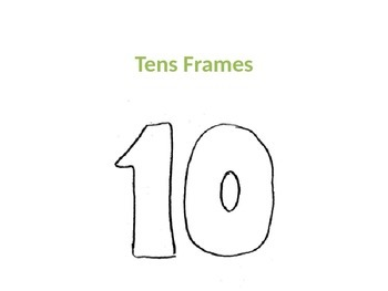 Tens Frames in PowerPoint