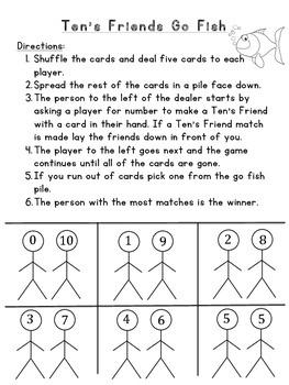 Ten's Friends Games