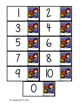 """Tens """"Go Fish"""" Holiday Math Game"""