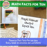 Tens Math Facts (addition & subtraction) thru Poetry and Activities