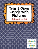 Tens & Ones Cards with Pictures - 1 to 100!