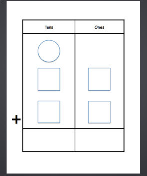 Tens Place Value Addition