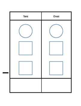 Tens Place Value Subtraction
