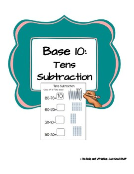 Tens Subtraction