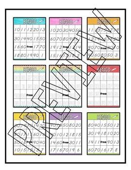 Tens & Teens Bingo for ELLs