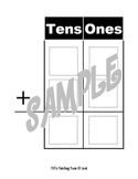 Tens and Ones Addition Chart