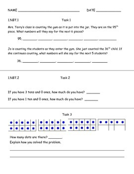 Tens and Ones Assessment