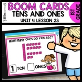 Tens and Ones BOOM CARDS | DIGITAL TASK CARDS | Module 4 L