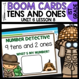Tens and Ones BOOM CARDS | DIGITAL TASK CARDS | Module 6 Lesson 8