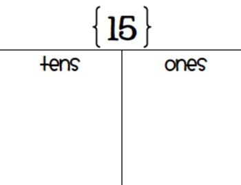 Tens and Ones Breakdown
