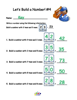 Tens and Ones - Build a Number
