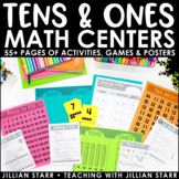 Tens and Ones Math Centers