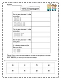 Tens and Ones Cut and Sort