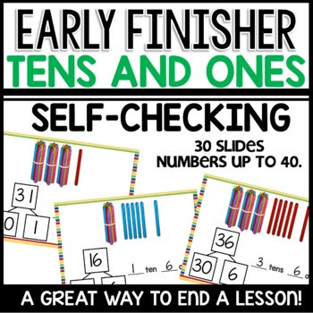 Tens and Ones (Early Finisher PPT)