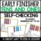 Tens and Ones Practice (Early Finisher)