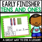 Tens and Ones Practice Early Finisher