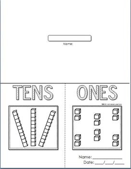 Tens and Ones Foldable