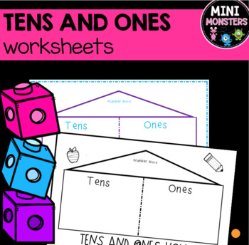 Tens and Ones House Bundling Activity