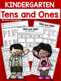 Place Value Kindergarten Tens and Ones Worksheets