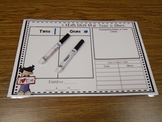 Tens and Ones Learning Mats- Small Group Set of 6