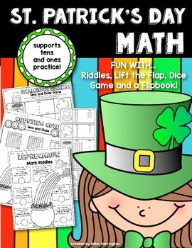 St. Patrick's Day Math Fun {Tens and Ones - Place Value}